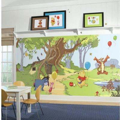 Mural Pooh e seus Amigos