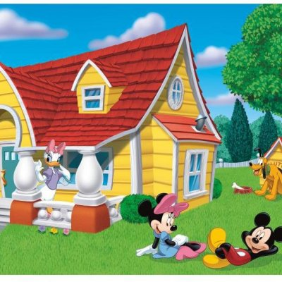 Mural Mickey e seus Amigos