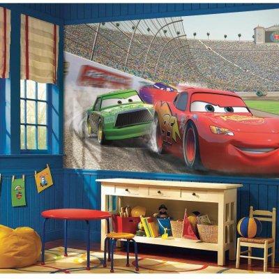 Mural Carros da Disney Pixar