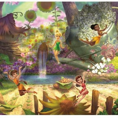 Mural Fadas Disney Pixie Hollow