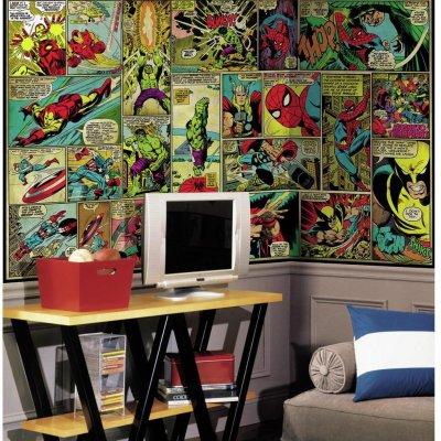 Mural Comics Marvel