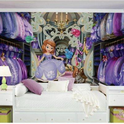 Mural Closet da Princesa Sofia