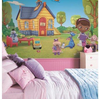 Mural Doutora Brinquedos