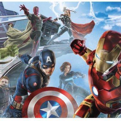 Mural Os Vingadores A Era de Ultron