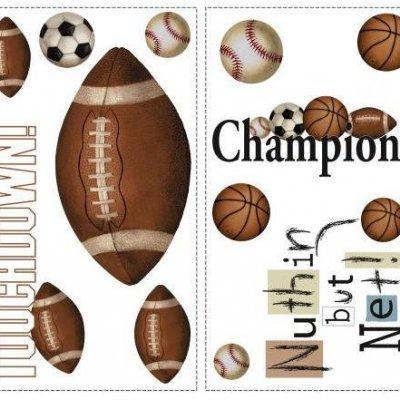 Adesivos Esportes com Bola