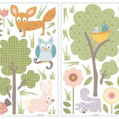 Adesivos Animais da Floresta