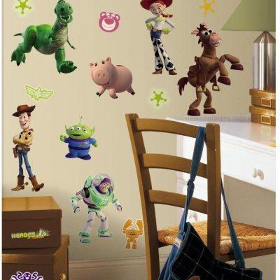 Adesivos Toy Story 3 - Brilha no Escuro