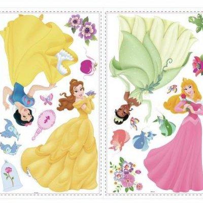 Adesivos Princesas Disney com Pedras Brilhantes