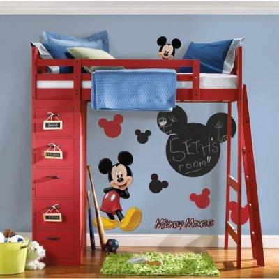 Adesivo Quadro de Giz do Mickey