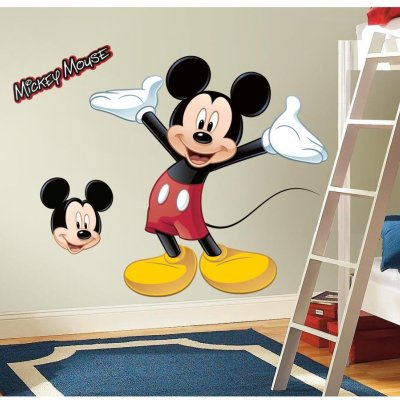 Adesivo Mickey Mouse com Realidade Aumentada
