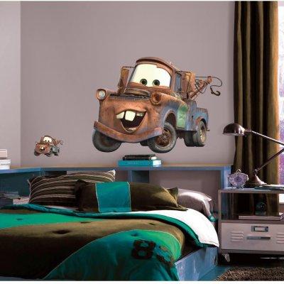 Adesivo Mate de Carros da Disney Pixar
