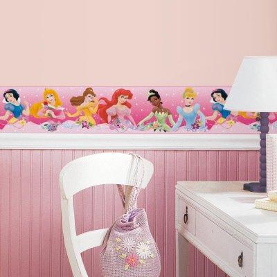Faixa Princesas Disney Peel&Stick