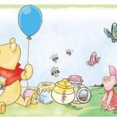 Faixa Ursinho Pooh Peel&Stick