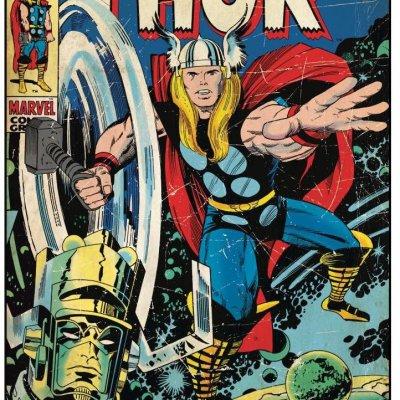 Adesivo Capa Comics Thor