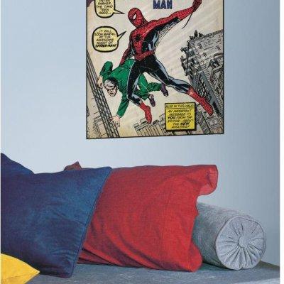 Adesivo Capa Comics Homem Aranha