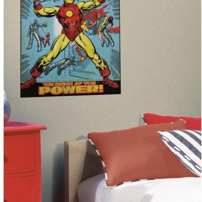 Adesivo Capa Comics Homem de Ferro