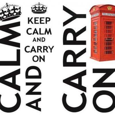 "Adesivo ""Keep Calm"""