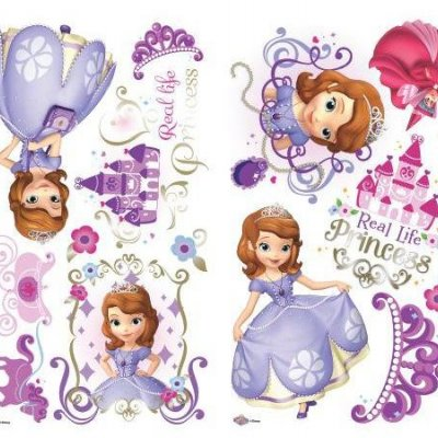 Adesivos Princesa Sofia