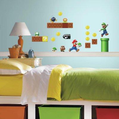 Adesivos Nintendo Super Mario Bros
