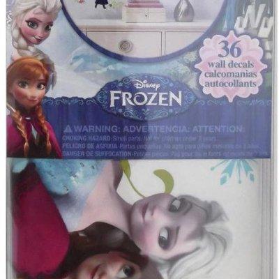 Adesivos Frozen da Disney com Glitter