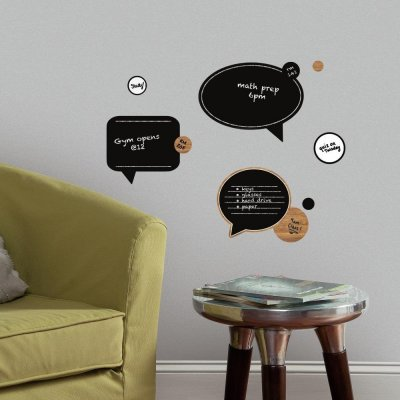 Adesivos Balões de Chat Apagáveis