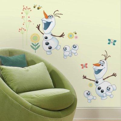 Adesivos Olaf de Frozen