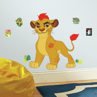 Adesivo A Guarda do Leão