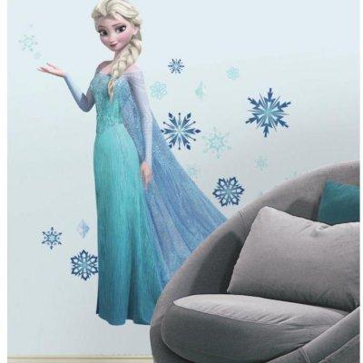 Adesivo Frozen Elsa com Glitter
