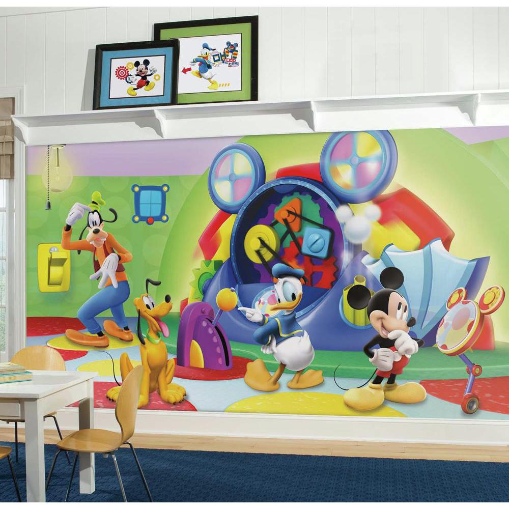Mural Casa Do Mickey Mouse Produto Roommates